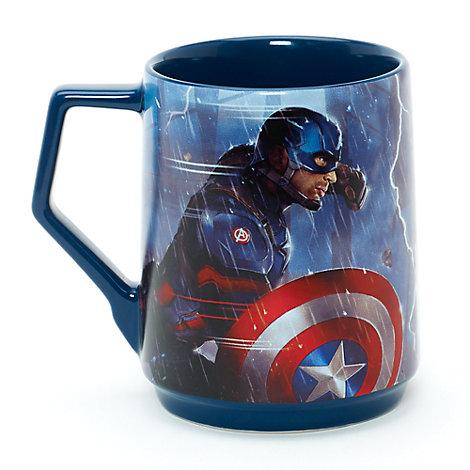 Taza Capitán América y Iron Man