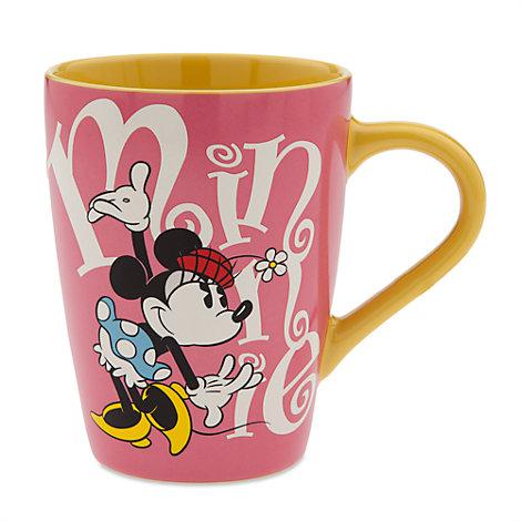 Minnie Maus - Becher mit Buchstaben