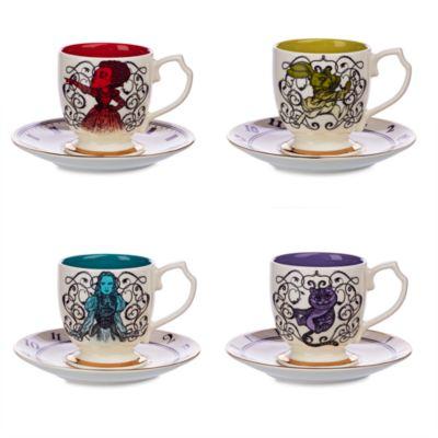 Alice im Wunderland - Hinter den Spiegeln - Teeservice aus hochwertigem Porzellan in limitierter Edition