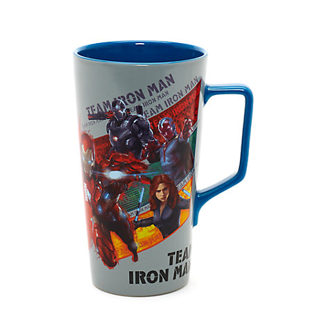 The First Avenger: Civil War - Becher mit Marvel-Superhelden-Teams