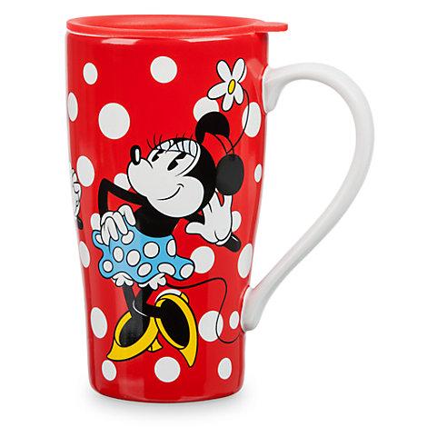 Taza con tapa Minnie