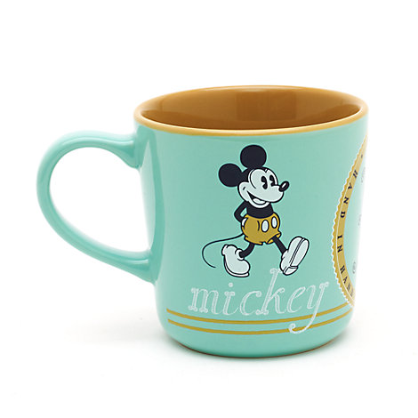 Mug rétro Mickey et Minnie Mouse