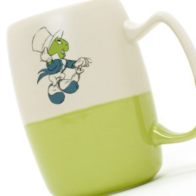 Jiminy Cricket Glazed Mug