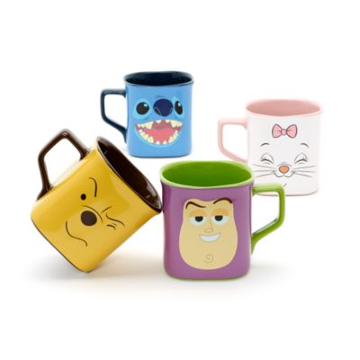 Stitch Face Square Mug