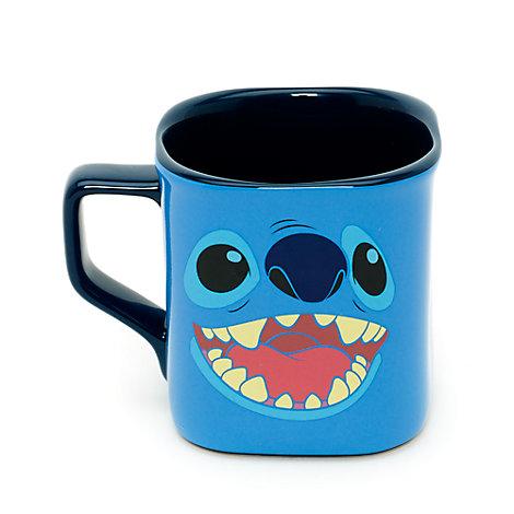 Mug carré visage de Stitch