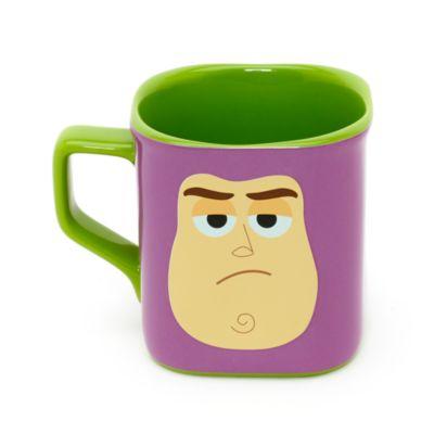 Buzz Lightyear - Eckiger Becher mit Gesichtsmotiv