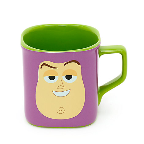 Buzz Lightyear firkantkrus med ansigt