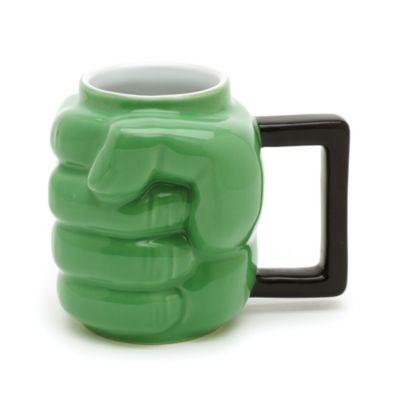 Taza con forma de puño Hulk