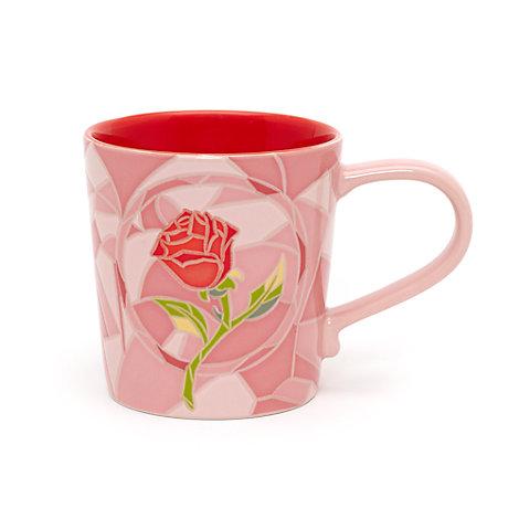 Die Schöne und das Biest - Art of Belle Becher in Pink