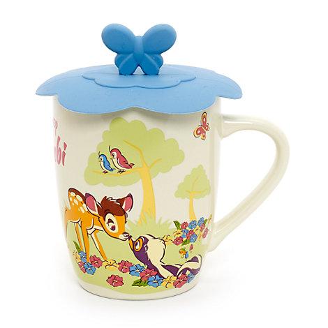 Mug Bambi avec couvercle