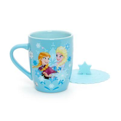 Mug La Reine des Neiges avec couvercle