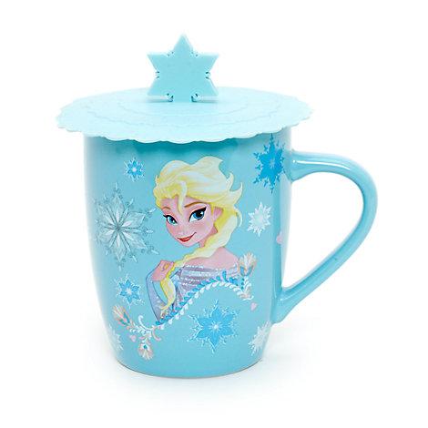 Taza y tapa Frozen