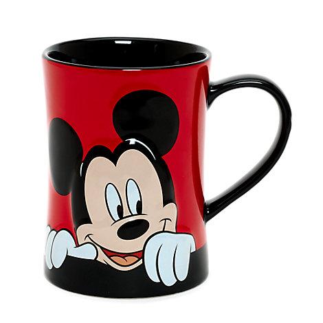Taza Mickey Mouse curioso
