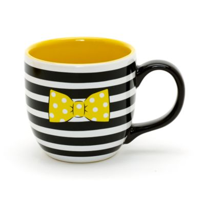 Minnie Mouse Signature Collection Mug And Saucer Set