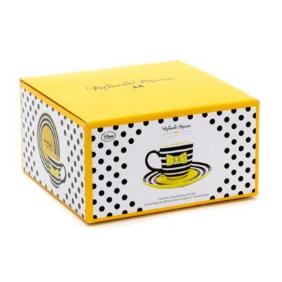 Minnie Mouse Signature Collection Mug And Saucer Set