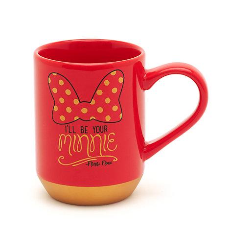 Taza Minnie y Mickey Mouse