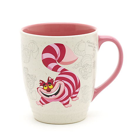 Mug Le Chat du Cheshire, Collection Disney Animators