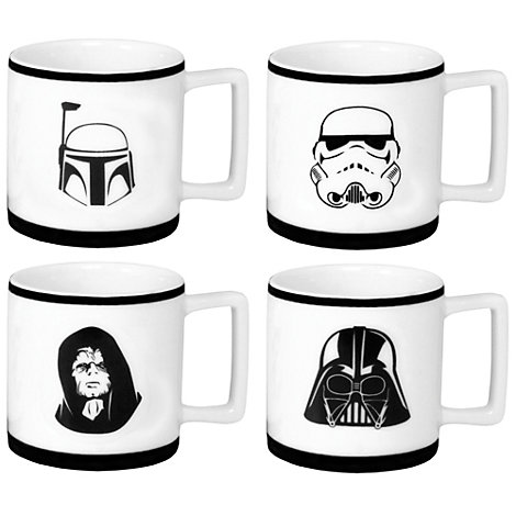 Set tazas espresso Star Wars