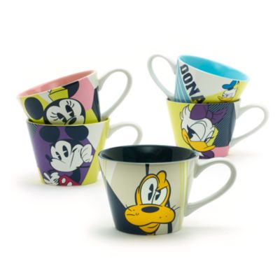 Taza de capuchino de Mickey Mouse