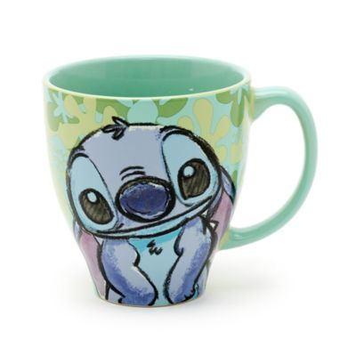 Taza con dibujo de Stitch