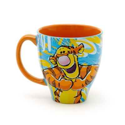 Tigger - Becher mit Muster