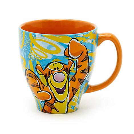 Taza con dibujo de Tigger