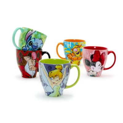 Tinker Bell Patterned Mug