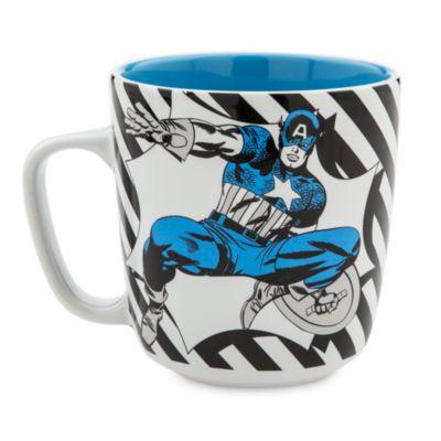 Taza grande del Capitán América