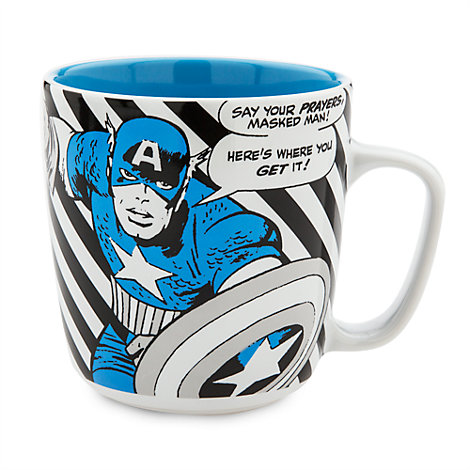 Captain America stor figurmugg