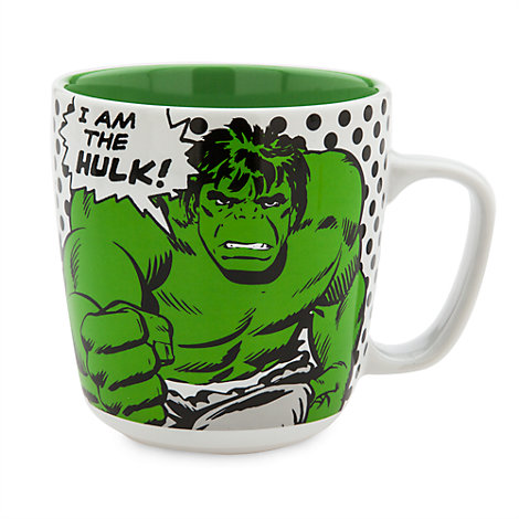 Taza grande de Hulk