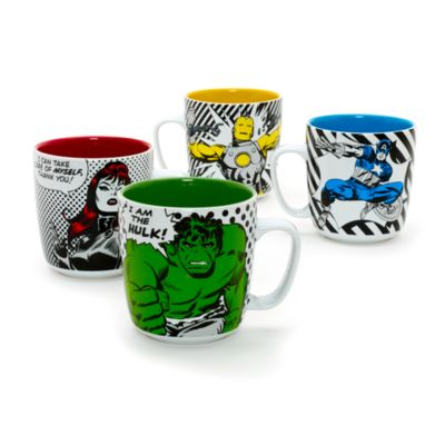 Black Widow Large Character Mug