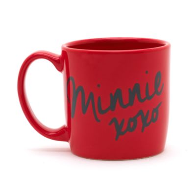 Taza con icono de Minnie