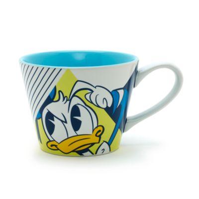 Taza de capuchino del Pato Donald