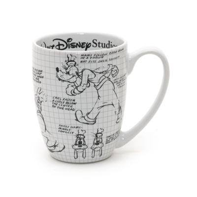 Set de tazas de Walt Disney Studios