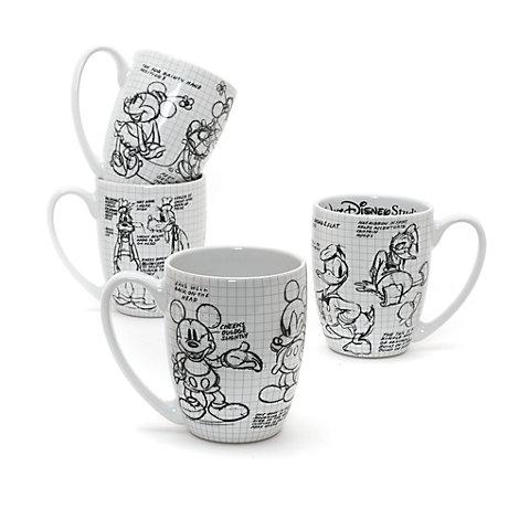 Walt Disney Studios Mug Set