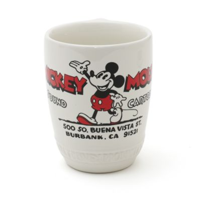 Mickey Mouse Ceramic Mug and Coaster Set, Walt Disney Studios