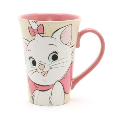 Marie and Berlioz Latte Mug, The Aristocats