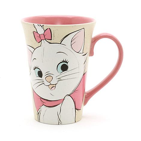 Mug Marie et Berlioz pour café latte, Les Aristochats
