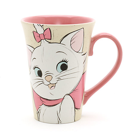 Marie and Berlioz Latte Mug, The Aristocats