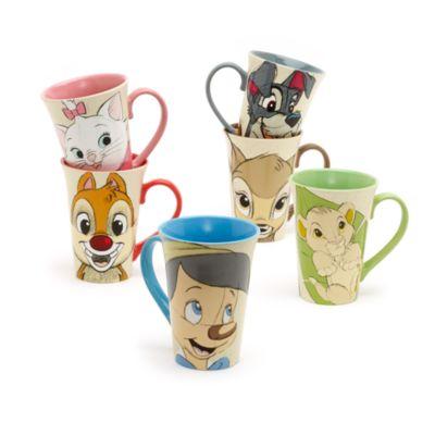 Mug La Belle et le Clochard pour café latte
