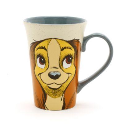 Lady and the Tramp Latte Mug