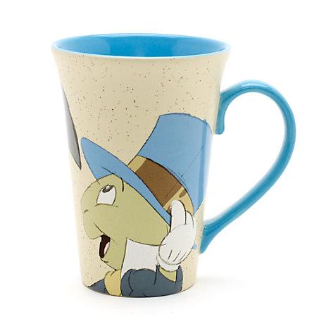 Pinocchio and Jiminy Cricket Latte Mug