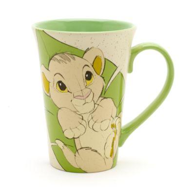 Mug Bébé Simba et Rafiki pour café latte, Le Roi Lion