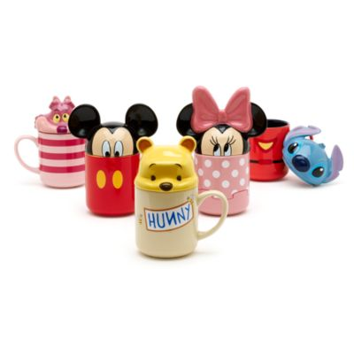 Winnie the Pooh Figural Mug with Lid