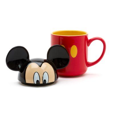 Mug Mickey Mouse avec couvercle