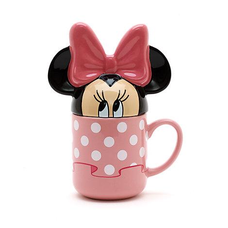Mug Minnie Mouse avec couvercle