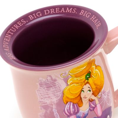 Rapunzel citatmugg, Trassel