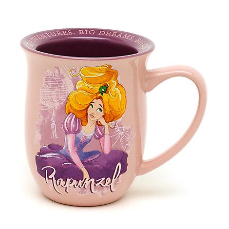 Taza con inscripción de Rapunzel, Enredados