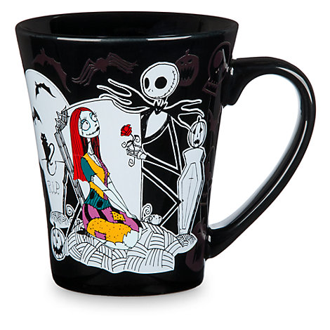 Nightmare Before Christmas - Jack und Sally - Becher mit wechselnder Farbe