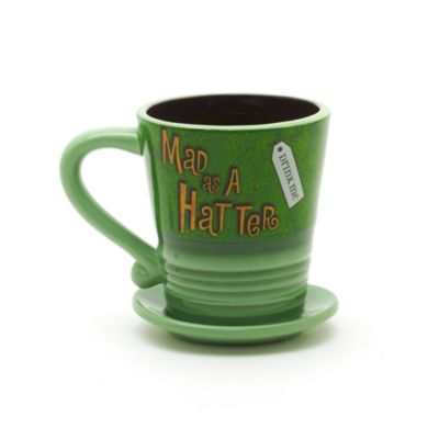 Disneyland Paris Mad Hatter Mug, Alice in Wonderland